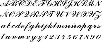 Abecedario En Diferentes Tipos De Letras | Nicks Blog