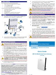 LTRT-18603 MP-252 Multimedia Home Gateway Quick Guide | Voice Over ... 10 Best Uk Voip Providers Nov 2017 Phone Systems Guide Are These The Voip Services Top Ten Reviews Siemens Gigaset A510ip Twin Cordless Ligo Zoiper And Pricing Dx800a Multiline Isdn Landline Phonecom Features Comparison Of Alternatives 6 Adapters Atas To Buy In Office For Small Business Updated Rca Rc940 Voip Compatible Ac Outlet Sallite Wireless Portable Evoice By Experts Users Vonage Vdv23vd Adapter Ebay