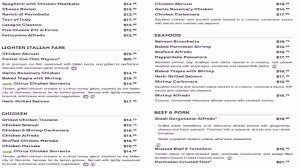 Olive Garden Restaurant Menu And Prices
