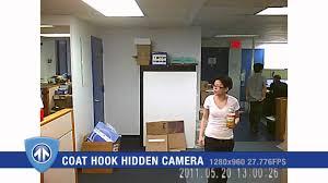 Mini Hidden Camera For Bathroom by Coat Hook Hidden Camera From Brickhouse Youtube