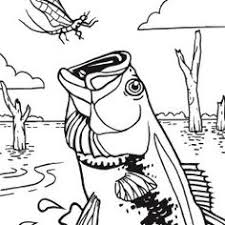 ABC Fishing Coloring Pages