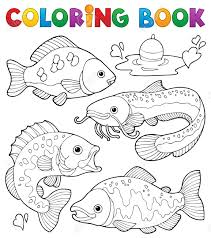 Catfish Project For Awesome Freshwater Fish Coloring Pages