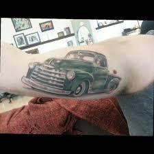100 Truck Tattoo VirgilPrice3 I Love My Tattoo 49 Chevy Pickup Truck My Tattoo Is
