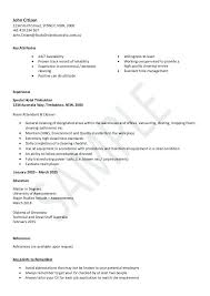 Free Sample Cleaner Resume Cleaning