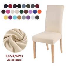 stoff stuhl abdeckung für esszimmer stühle covers hohe