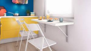 impressionnant table de cuisine murale rabattable et table cuisine