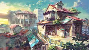 Anime Scenery Wallpaper For Desktop