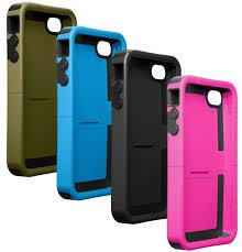 Amazon OtterBox Reflex Series Case for iPhone 4 Green Black