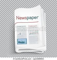Newspaper Shadow Transparent Background