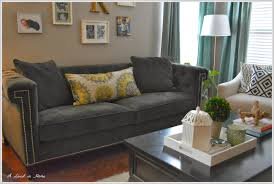 Pottery Barn Charleston Sofa Dimensions by A Lived In Home The New Sofa