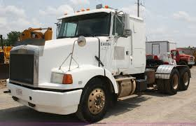 100 Gmc Semi Trucks 1994 Volvo White GMC WIA Semi Truck Item B6671 SOLD Thu