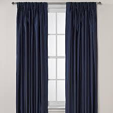 Sound Deadening Curtains Bed Bath And Beyond by Argentina Pinch Pleat Back Tab Interlined Window Curtain Panels