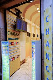 bureau change a bureau de change editorial photography image of display 47001102