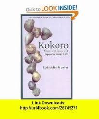 Kokoro Natsume Soseki 9780809260959 Amazon Books