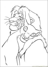 Image Detail For Printable Coloring Page The Lion King 72 Cartoons