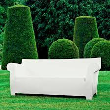 kartell canapé canapé minimaliste de jardin en polypropylène par philippe