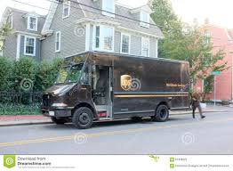 100 Ups Truck Hours Delivery