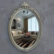 retro badezimmer spiegel wand montiert hd silber spiegel