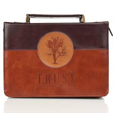 Trust In Two Tone Jeremiah 177 Bible Cover