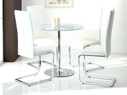 Small Glass Dining Table Round Set Coffee Black