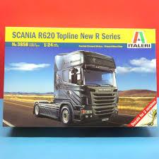 100 Model Semi Truck Kits Italeri 124 Scania R620 Topline New R Series Model Kit