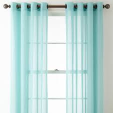 Grommet Top Curtains Jcpenney by Jcpenney Home Batiste Grommet Top Sheer Curtain Panel Jcpenney