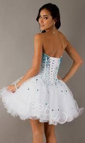 short white corset prom dresses naf dresses