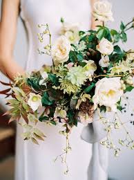 13 fall bride bouquet lush ce Wed