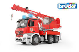 Bruder - 1:16 MB Arocs Fire Engine Crane Truck W/Light & Sound ... Bruder Mack Granite Fire Engine With Slewing Ladder Water Pump Toys Cullens Babyland Pyland Man Tga Crane Truck Lights And So Buy Mack Tank 02827 Toy W Ladder Scania R Serie L S Module Laddwater Pumplightssounds 3675 Mb Across Bruder Toys Sound Youtube Land Rover Vehicle At Mighty Ape Nz Arocs With Light 03670 116th By