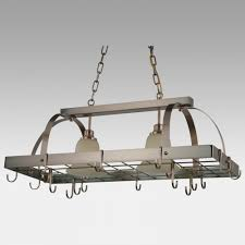 entracing kitchen hanging pot racks canada extremely update your