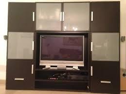 ikea besta wohnzimmer tv schrank schwarzbraun eur 1 00