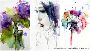 Watercolor Design Watercolour Art Painting Ideas Expand Your Knowledge With Home 23