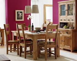 Solid Oak Dining Room Table To Accompany Your Family Dinner Elegant