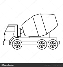 Truck Concrete Mixer Icon Outline — Stock Vector © Ylivdesign ... Sensational Monster Truck Outline Free Clip Art Of Clipart 2856 Semi Drawing The Transporting A Wishful Thking Dodge Black Ram Express Photo Image Gallery Printable Coloring Pages For Kids Jeep Illustration 991275 Megapixl Shipping Icon Stock Vector Art 4992084 Istock Car Towing Truck Icon Outline Style Stock Vector Fuel Tanker Auto Suv Van Clipart Graphic Collection Mini Delivery Cargo 26 Images Of C10 Chevy Template Elecitemcom Drawn Black And White Pencil In Color Drawn