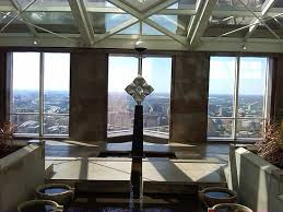 Chase Tower Observation Deck Dallas by From The Sky Lobby Of The Chase Tower Downtown Dallas Tx Flickr