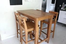 table haute cuisine table haute cuisine bois brainukraine me