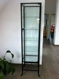 Ikea Display Cabinet Medium Size Of Glass Case Perth