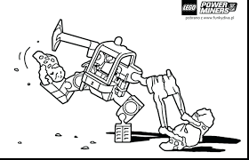 Lego Hero Factory Colouring Pages Free Marvel Superheroes Coloring Good Power Miners Print Full Size