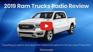 100 Radio For Trucks 20192020 Dodge Ram 1500 2500 3500 Factory OEM Options Easy Plug Play Install