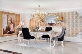 casa padrino luxus barock esszimmer set blau weiß gold 1 esstisch 6 esszimmerstühle prunkvolle esszimmermöbel im barockstil luxus qualität