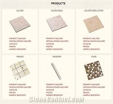Atlantic Shell Stone Tile by Coral Stone Suppliers Global Stone Supplier Center