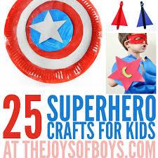 25 Superhero Crafts For Kids