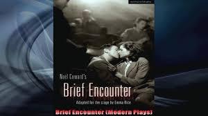 Brief Encounter 1946 Movie David Lean WAATCHco