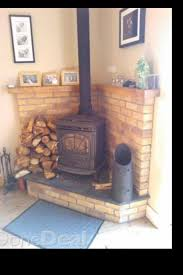 Corner Wood Burning Stove