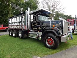Mack Superliner Custom Tri Axle Dump | Trucks | Pinterest | Mack ...