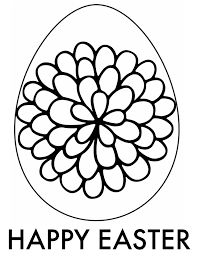 Easter Egg Coloring Page 6