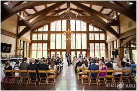Vail Colorado Rustic Wedding Venue Donovan Pavilion Wide View Of Indoor Ceremony