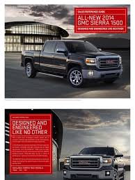 2014 GMC Sierra Brochure Sales Reference Guide | Chevrolet Silverado ... Amazoncom Gmc Sierra Denali Pickup Truck 124 Friction Series Red 2015 Elevation And Carbon Editions Bring Topflight Leds 2014 Brochure Sales Reference Guide Chevrolet Silverado New 2017 Hd All Terrain X Rocks Heavy Duty Pickup Segment Mcclellan Wheaton Buick In Camrose Ab 1947 1954 Side Windows Australian Body 1984 Pickup Mpc Dester Model Unboxing Build With Bonus 2016 Hidden Next To Models At Local Dealership Trucks This Week Car Buying Big Truck Discounts Kelley Blue Book Pressroom United States Images 1953 Gmc For Sale Classiccars Designs Of 53 Chevy
