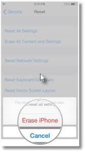 How to Delete Everything on iPhone drne