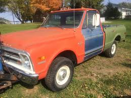 1968 Chevy Pickup Short Box 4x4 - Classic Chevrolet C-10 1968 For Sale